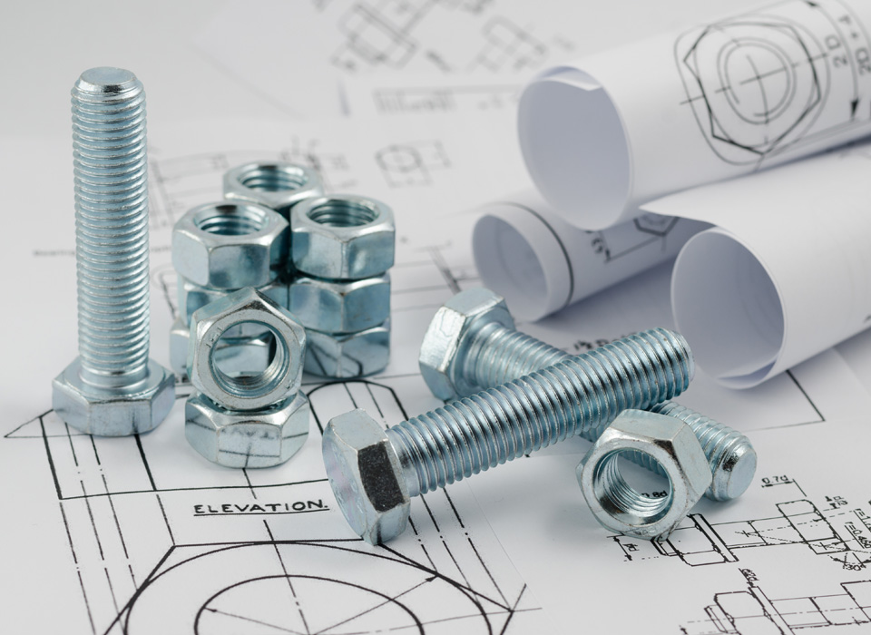 custom bespoke bolts and nuts